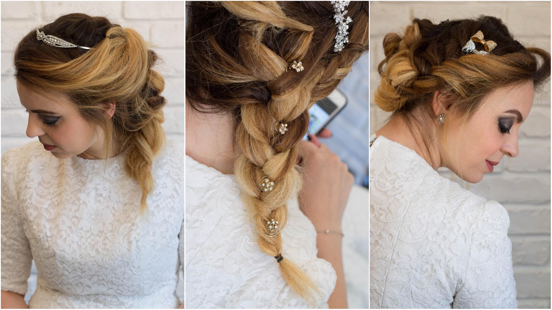 Acconciature per capelli lunghi con treccia