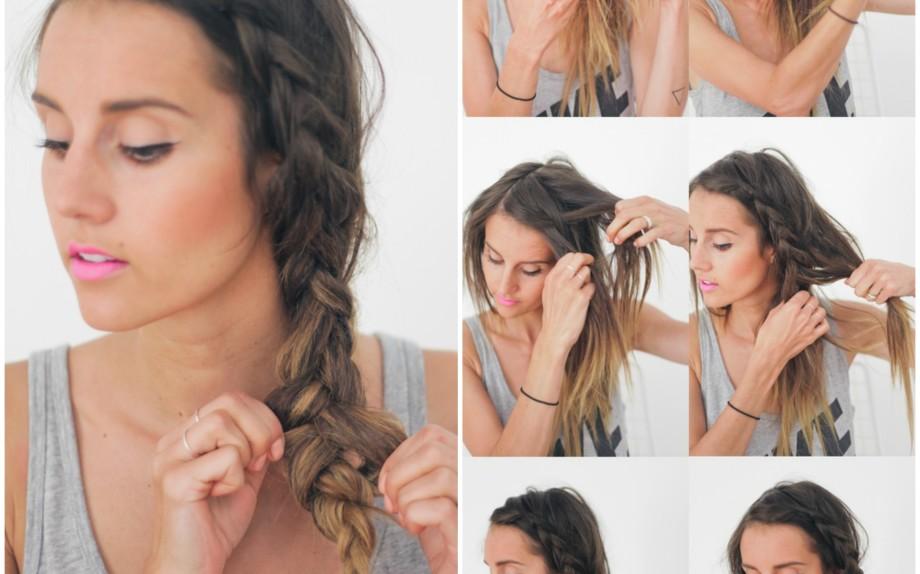 Acconciature capelli lunghi in spiaggia