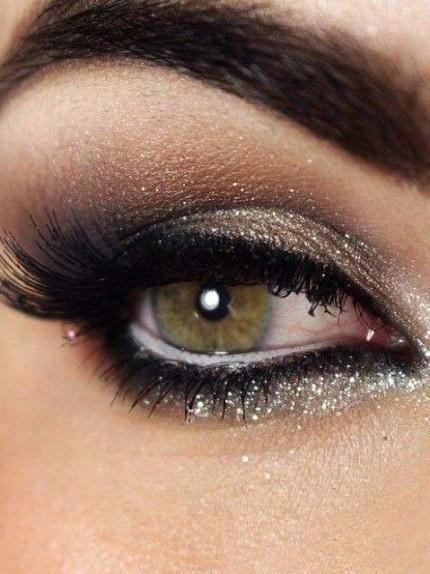 make up metallizzato