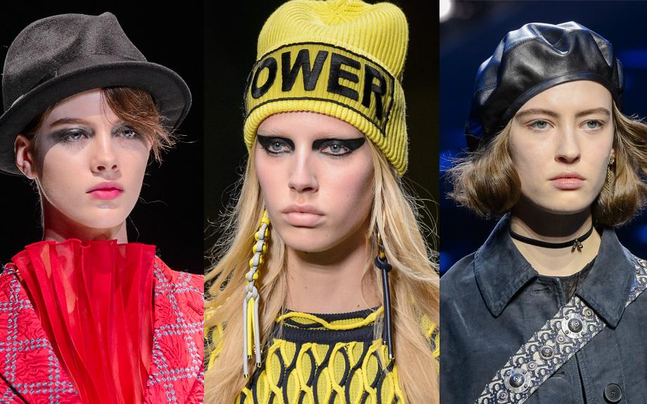 Trend accessori capelli  su i cappelli per l  autunno-inverno 2017 2018 de6baf34dc15