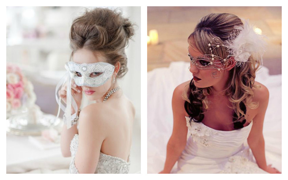 spose in maschera glamour