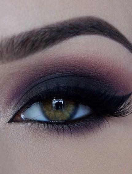 trucco smokey eyes