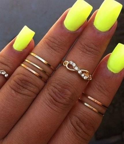 Unghie Fluo Colori Fluorescenti Per Unghie Glamourit