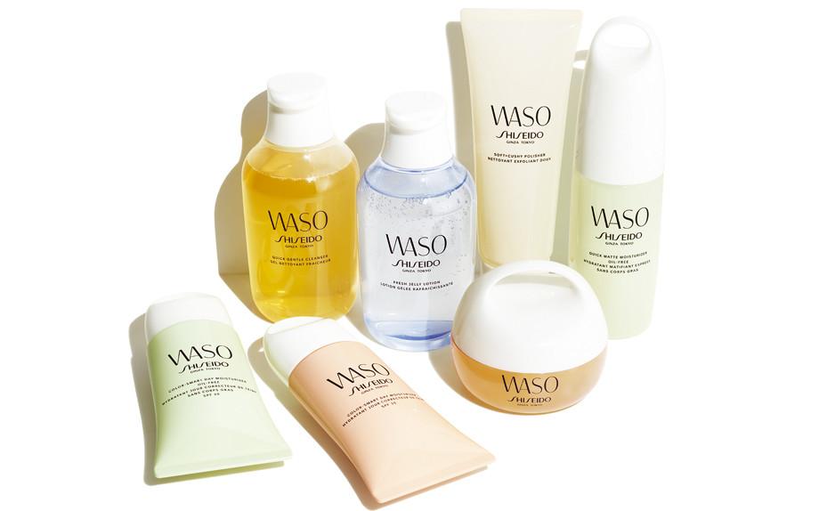 La linea Waso di Shiseido