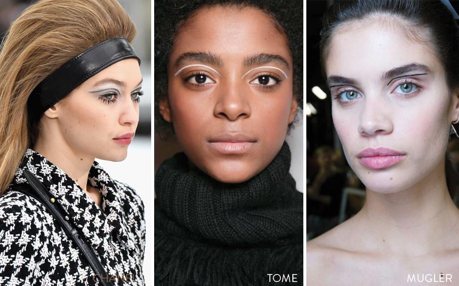 Graphic Makeup, i trucchi visti sulle passerelle e da ricreare