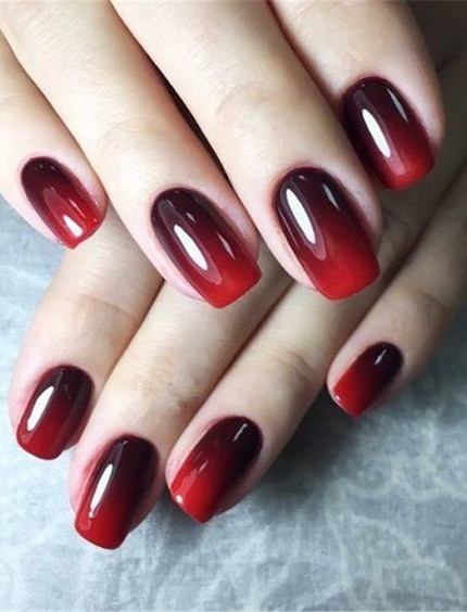 credits s.clicaliexpress.com by Pinterest. credits s.clicaliexpress.com by  Pinterest. unghie gel rosse