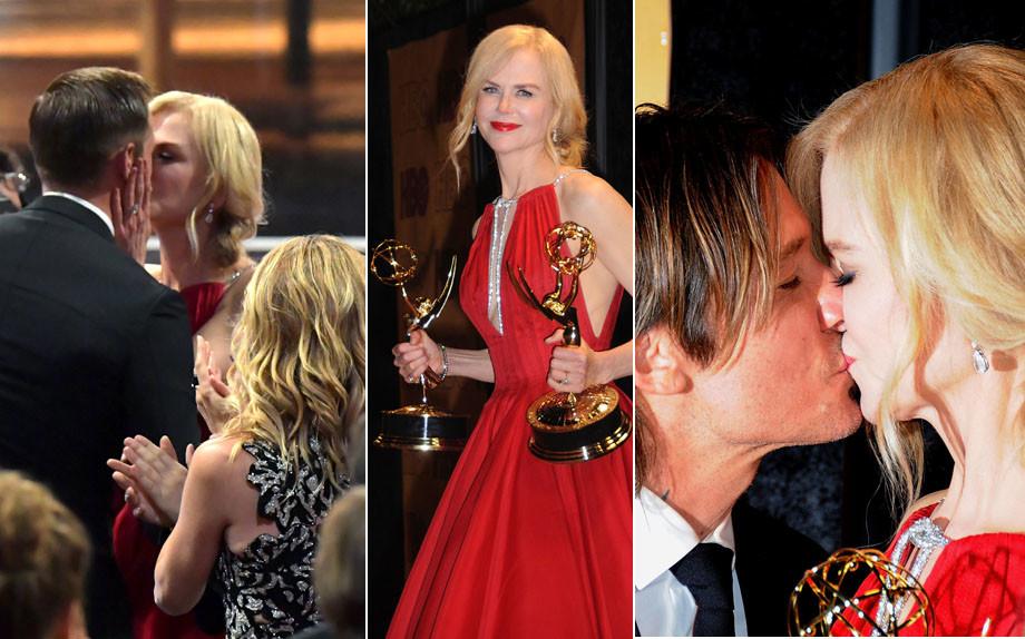 Emmys 2017 Keith Urban Ok With Nicole Kidman Alexander: Emmy Awards 2017: Nicole Kidman Vince E Mette In Pratica I