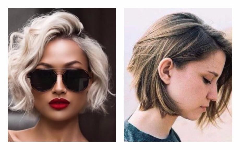 Taglio capelli moda foto