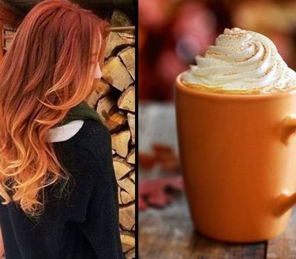 Pumpkin-Spice-Ombre-Hair