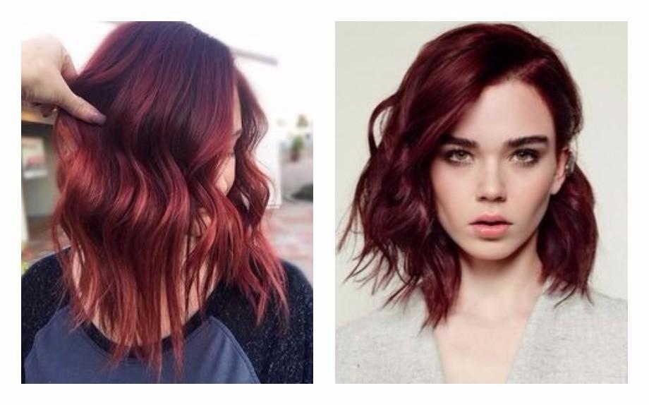 Idee colore capelli medi