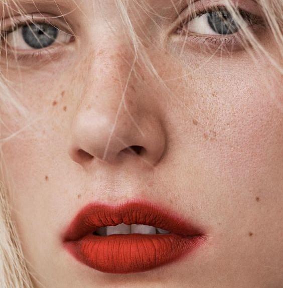 Trucco labbra smudged lipstick