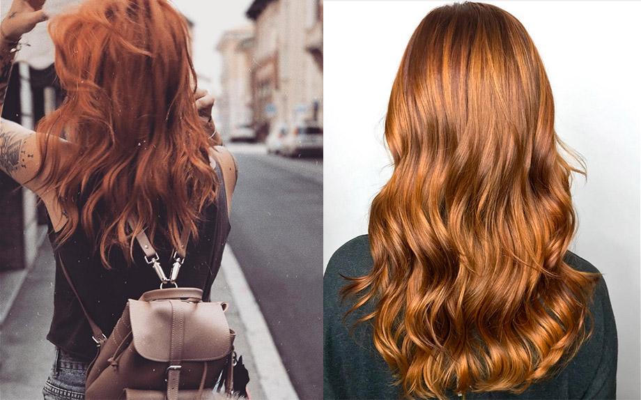 Foto capelli color cannella