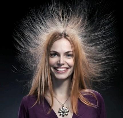 capelli elettrici cause