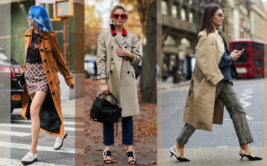 Trench - street style
