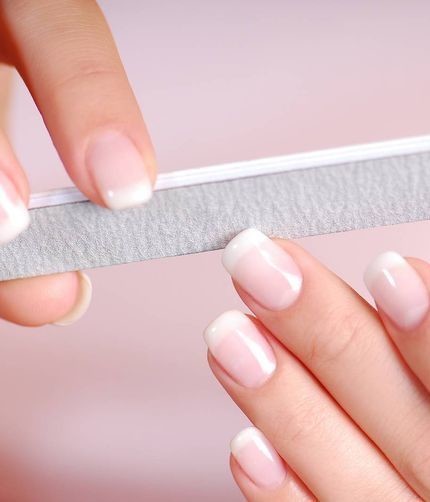 unghie rigate verticali