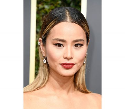 Gettyimages  - Jamie Chung ai Golden Globe 2018