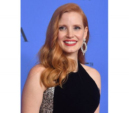 gettyimages Jessica Chastain ai Golden Globe 2018