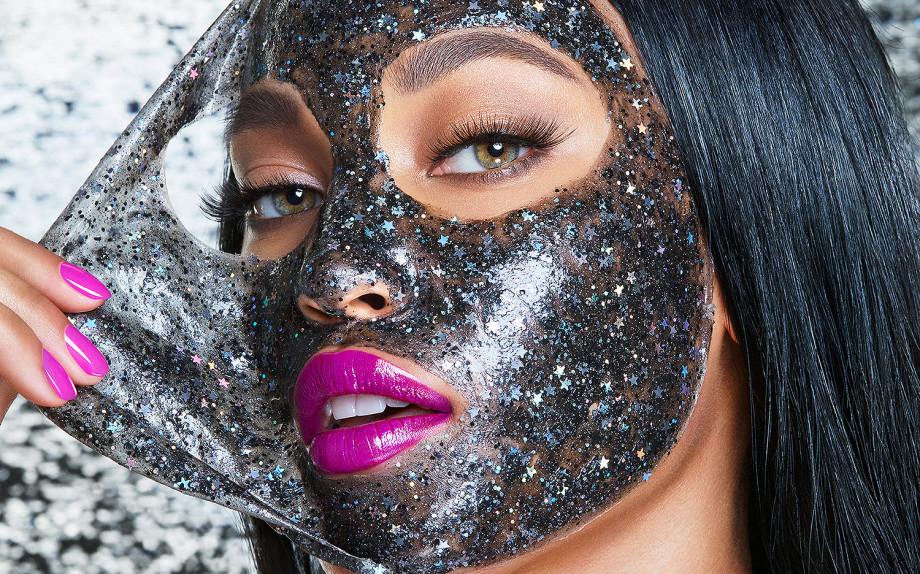 maschere glitter