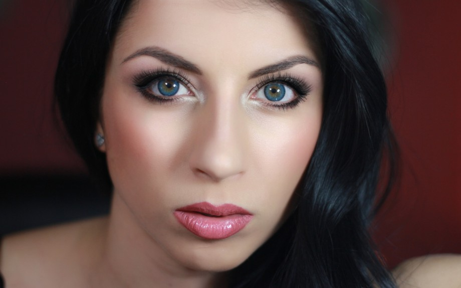 makeup occhi azzurri