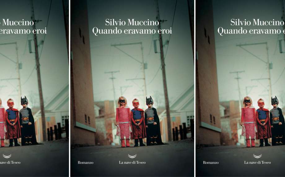 La copertina del libro di Silvio Muccino