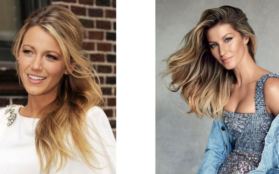 A sinistra: Jennifer Aniston, a destra Jessica Biel - via Pinterest