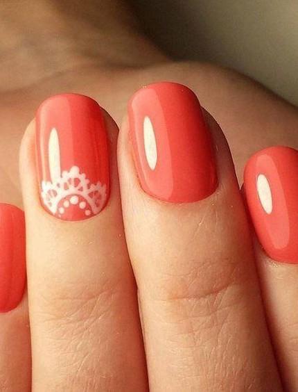 unghie corallo