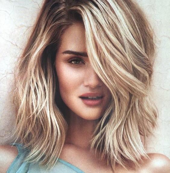 Degrad biondo idee di stile per i vostri capelli - Bagno di colore su meches ...