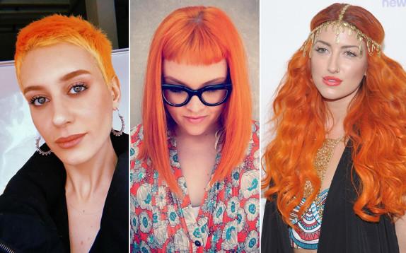 Capelli arancioni, la tendenza colore che infonde energia