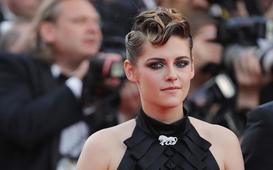 Lo chignon rockabilly di Kristen Stewart