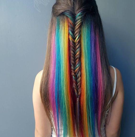 spray colorante per capelli