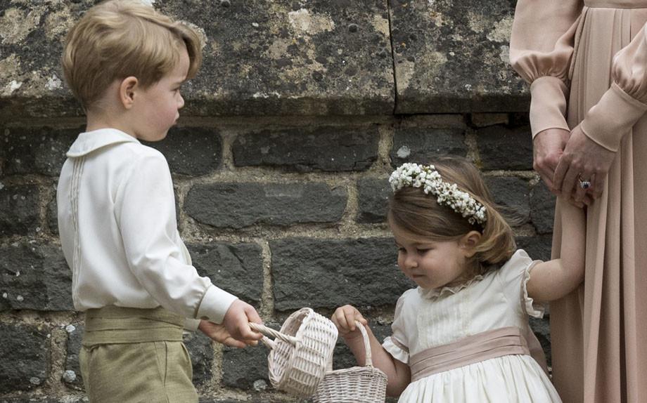 George e Charlotte di Cambridge