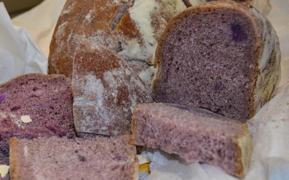 Well-Bred, il pane viola sviluppato dall'Università di Pisa, con super ingredienti che fanno bene la salute