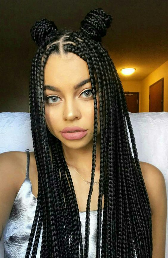 Box Braids Sempre Di Moda Anche Quest Estate Glamour It