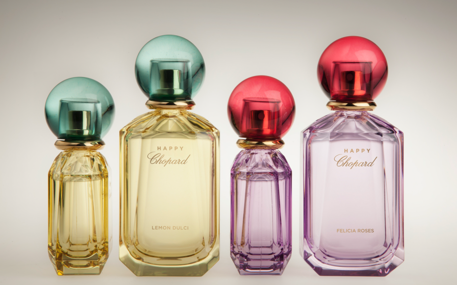 Felicia Roses e Lemon Dulci, Happy Chopard Collection (100 ml, €125; 40 ml €69)