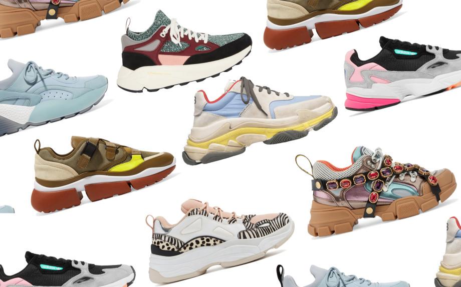 18a1b57010410 Chunky sneakers  le scarpe da ginnastica da fashionista