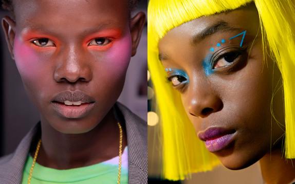 Fluo is the new black, nella moda ma anche nel beauty