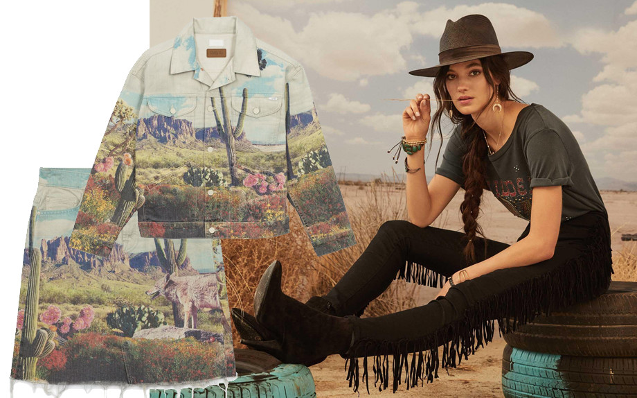 MOTHER LANCIA LA CAPSULE WESTERN STYLE �GIDDY UP�.