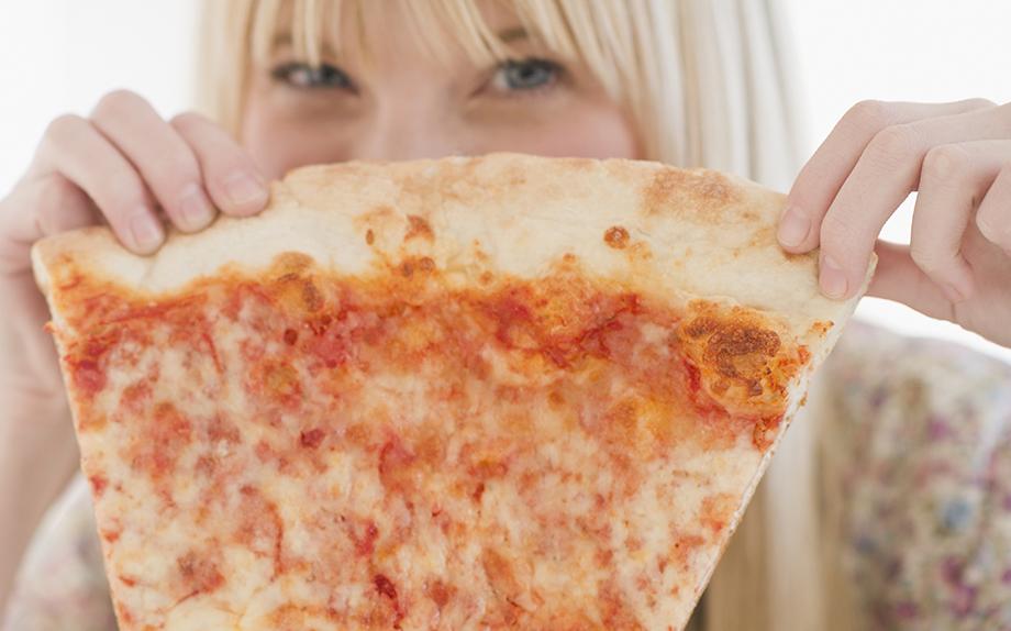 se sono a dieta posso mangiare la pizza