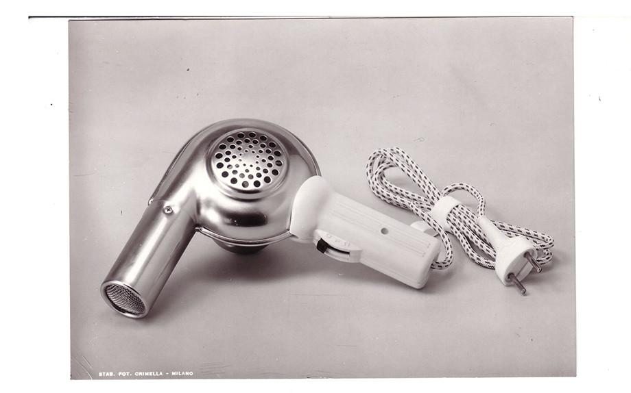 Una foto storica del modello Elchim del 1960