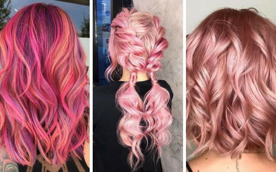 Colore capelli 2019 rosa (Ph credit Pinterest)
