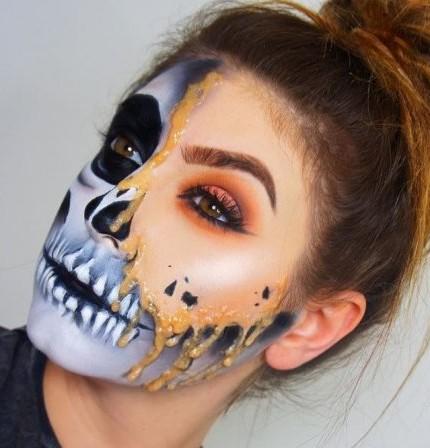 475f4aaf815c Make-up per Halloween last minute: il trucco più veloce e spaventoso ...