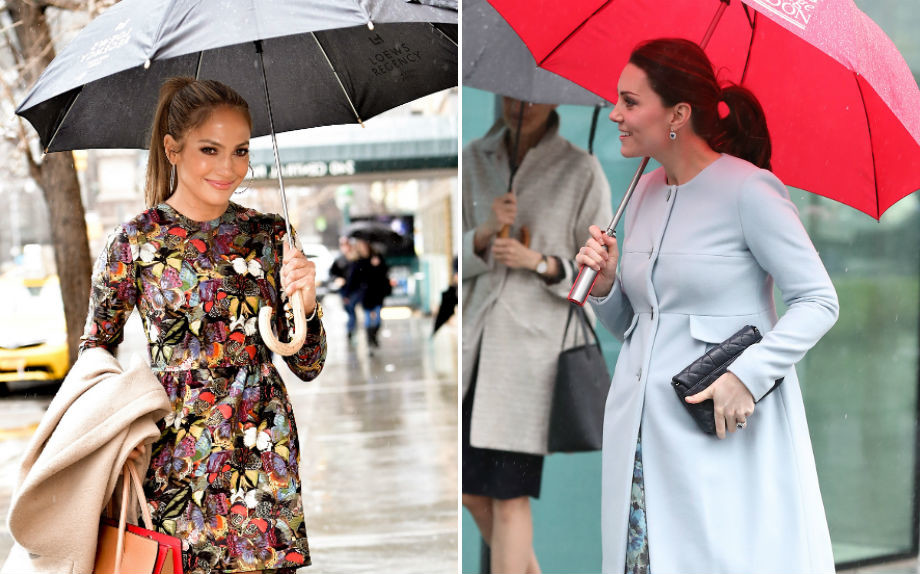 Jennifer Lopez e Kate Middleton (Getty Images)