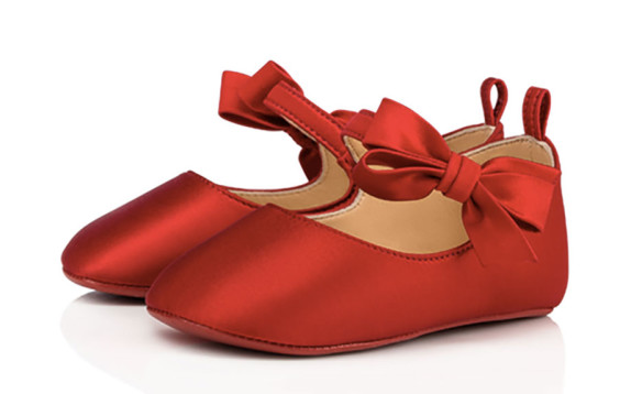 In arrivo per Natale le baby scarpe di Christian Louboutin