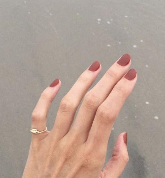 unghie autunno