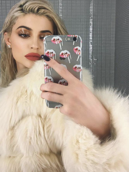 glossy eyes, onemoreaddcition, make-up occhi, Kylie Jenner
