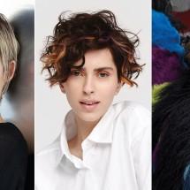 Tagli capelli cortissimi ricci 2019