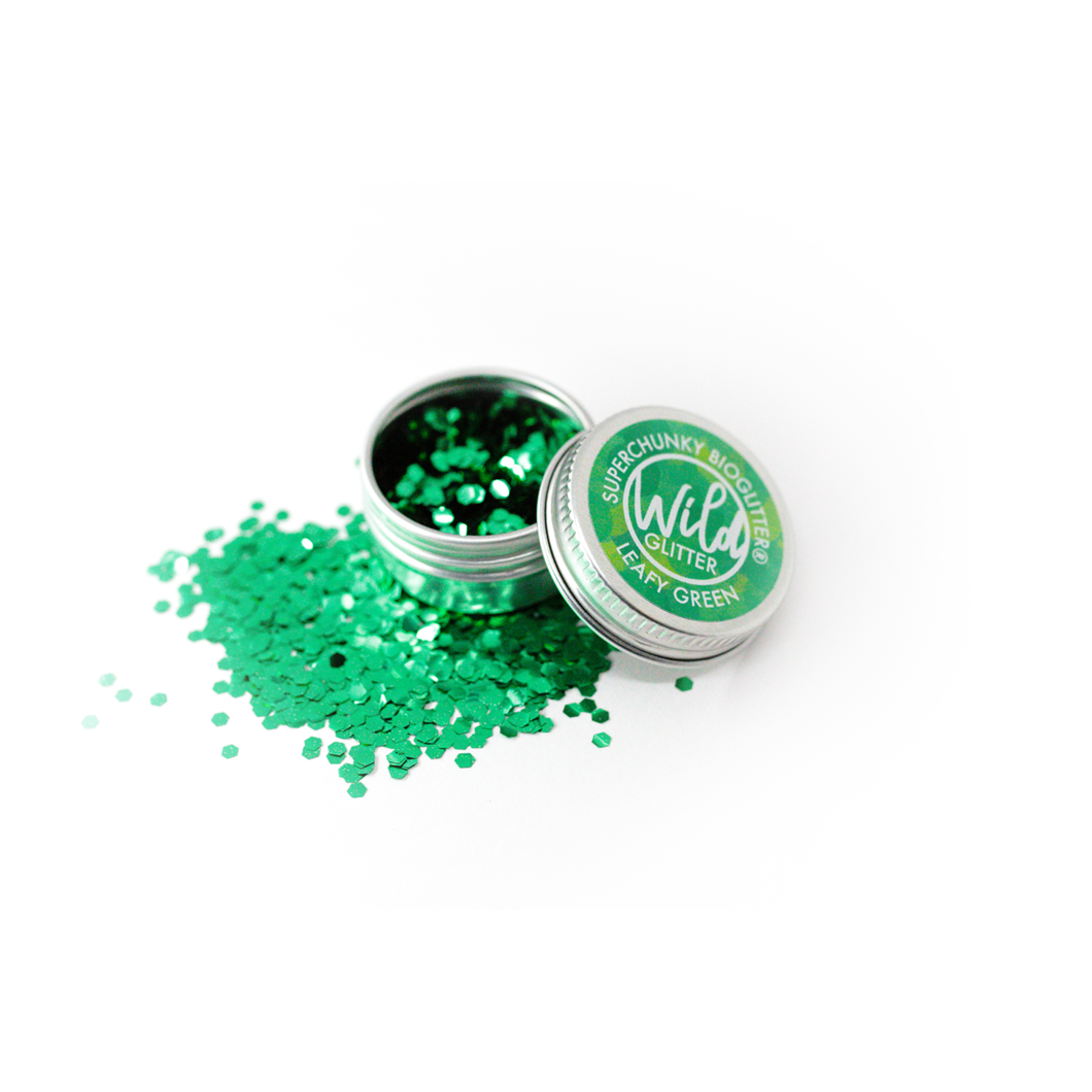 make up glitter bio