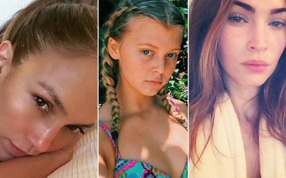 Megan Fox senza trucco e le altre celeb con selfie al naturale