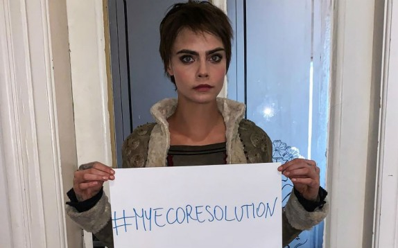 #MyEcoResolution: la campagna social eco-solidale di Cara Delevingne