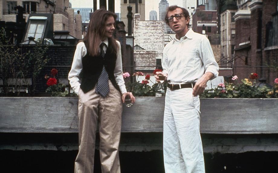 Diane Keaton e Woody Allen nel film Io e Annie (1977)